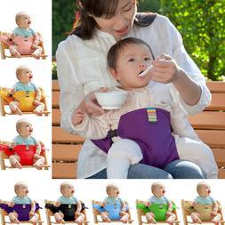 Washable Portable Baby Feeding High Chair Cotton Belt Toddle