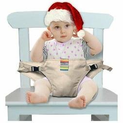 The Washable Portable Travel High Chair Booster Baby Seat wi