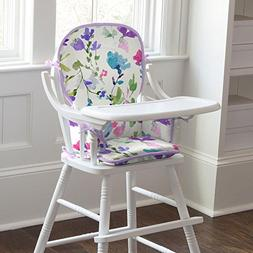 Carousel Designs Wildflower Garden High Chair Pad
